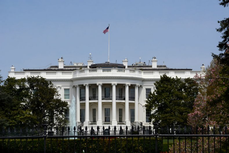 The White House using misters to deep clean during pandemic